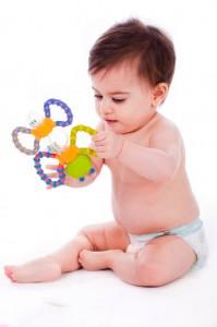 Bild: Babys wollen spielen